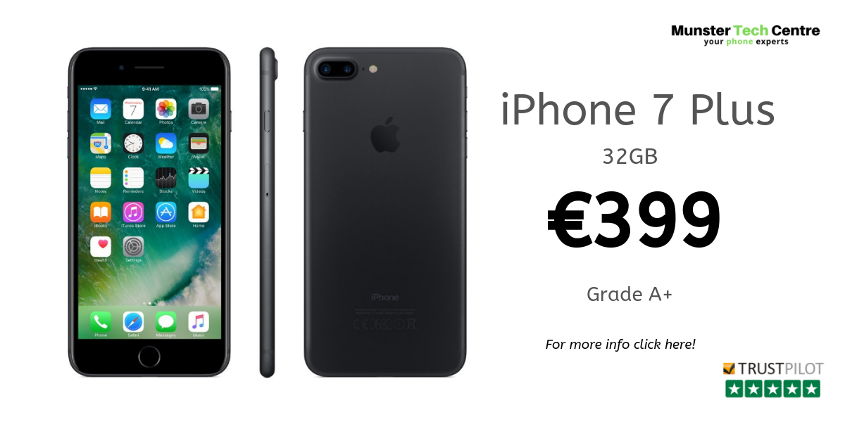 iPhone 7 Plus - €399