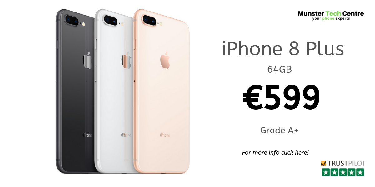 iPhone 8 Plus - €599
